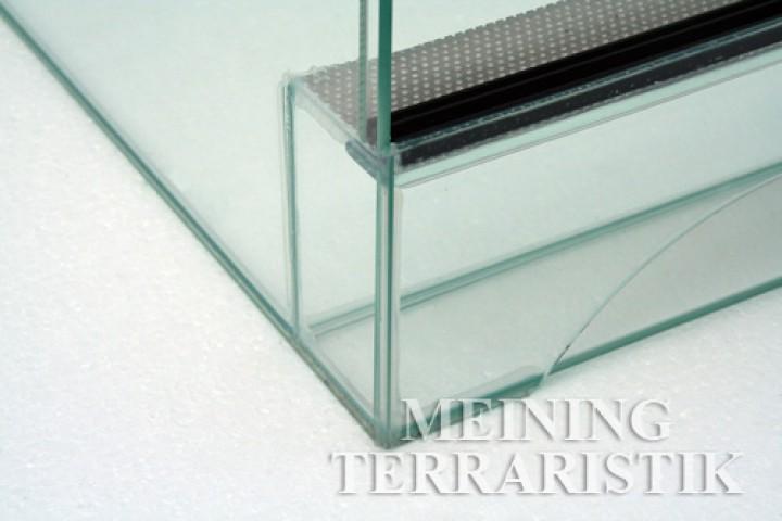 glasterrarium 60 x 60 x 120 cm lxtxh 6 mm glas terrarien mit schiebescheiben terrarien. Black Bedroom Furniture Sets. Home Design Ideas
