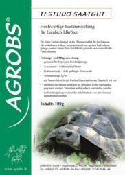Testudo Saatgut 0,1kg Saatgut für Landschildkrötengehege