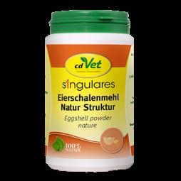 Singulares Eierschalenmehl Natur Struktur 350g