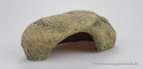 Felshöhle klein, 17 × 7 × 10 cm, Höhe: 7 cm