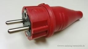 Gummistecker ROT 16A