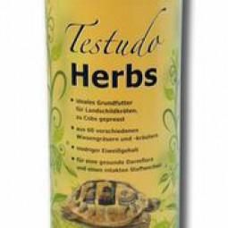 TESTUDO Herbs 500 g Landschildkrötenfutter
