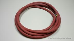 Sikikonleitung SIHF 3G1,5 mm² rotbraun, 2m