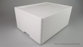 Styroporbox mit Deckel 10,5 Liter