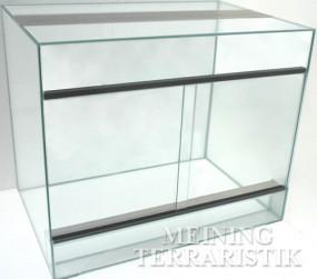Glasterrarium 60 x 40 x 40 cm ( LxTxH ), 4 mm Glas
