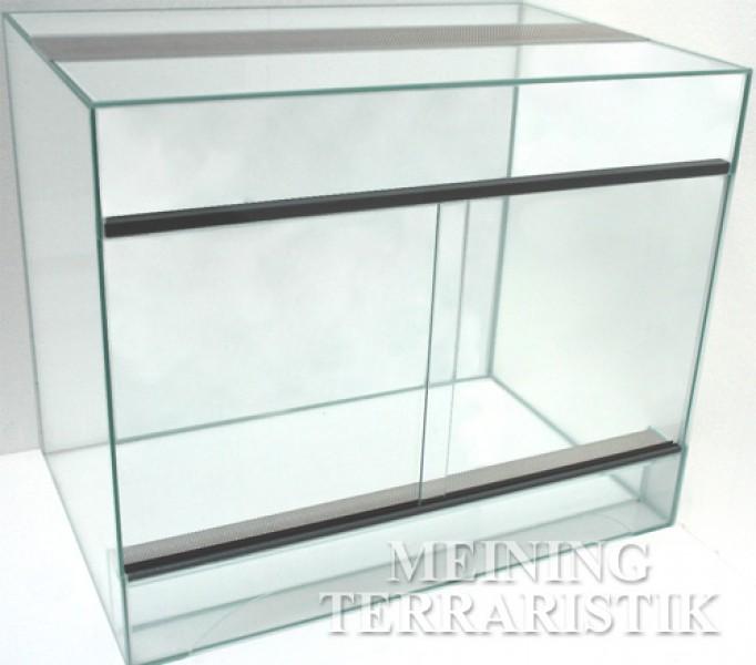 Glasterrarium 120 x 60 x 80 cm lxtxh 6 mm glas for Wohnzimmertisch 100 x 50