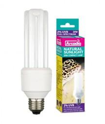 Natural Sunlight Lamp 20 Watt, 2% UVB und 10% UVA