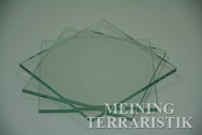 4 mm Glas, Zuschnitt / m²