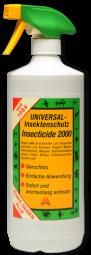 INSECTICIDE 2000, 500 ml Flasche mit Sprühkopf