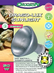 DRAGO-LUX Sunlight Desert 50 Watt