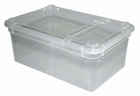 BraPlast 1,3 Liter Dose transparent