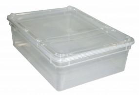BraPlast 3,0 Liter Dose transparent