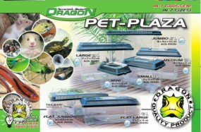 PET-PLAZA Kunststoffbox Medium 12 L