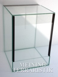 Glasterrarium 20 x 20 x 40 cm ( LxTxH ), 4 mm Glas