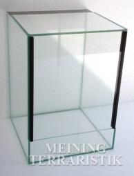 Glasterrarium 25 x 25 x 35 cm ( LxTxH ), 4 mm Glas, KEIN VERSAND